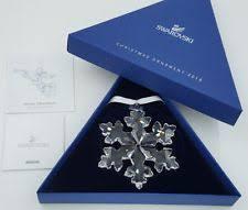2000 swarovski annual snowflake ornament lg