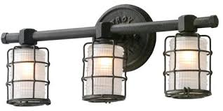 industrial bathroom light fixtures vanities industrial style vanity lighting black industrial vanity