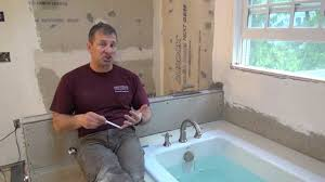 remodeling a bathroom part 8 liquid waterproofing a shower youtube