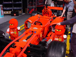 ferrari f1 lego technicbricks scaled up technic cars