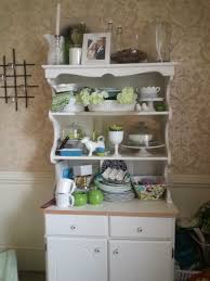 Dining Room Hutch Ideas by Styled Dining Room Hutch Feathers In Our Nest