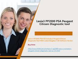 Lexia3 Pp2000 Obd Psa Xs by Lexia3 Pp2000 Psa Peugeot Citroen Diagnostic Tool Ppt Download