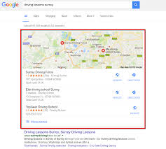 Google Maps Driving Google Maps Seo Footprint Web Design