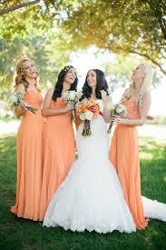 best 25 tangerine bridesmaid dresses ideas on pinterest orange