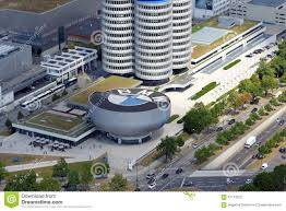 bmw germany bmw museum and street view in munich germany editorial