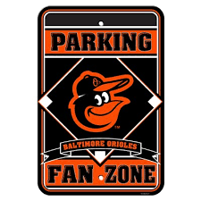 the sports fan zone baltimore orioles fan zone sign we re good sports