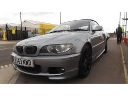 used bmw 3 series uk used 2003 bmw 3 series convertible 320 ci sport petrol for sale in