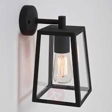 black exterior wall lights calvi outside wall light with black frame lights co uk
