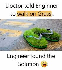 Grass Memes - dopl3r com memes doctor told enginner walk on grass enaineer