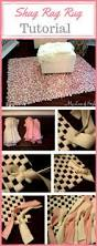 Tied Rag Rug Adorable Rugs Ideas And Tutorials For Kids