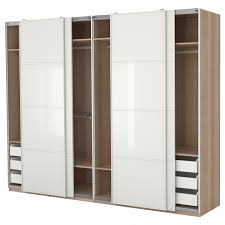 large wardrobe closet large brown wooden closet with white wooden