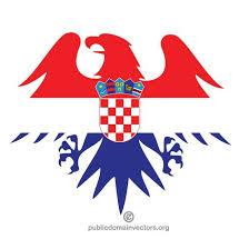 wappen designer kroatische flagge wappen design bei vectorportal