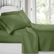 Best Rated Bed Sheets Egyptian Comfort 1800 Count 4 Piece Deep Pocket Bed Sheet Set Ebay