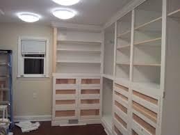 custom built in closet sawdust