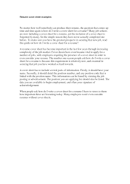 100 example of resume title page cover letter for resume