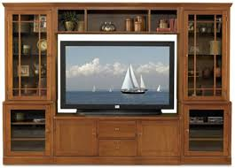 oak tv cabinets with glass doors furniture brown wooden entertainment cabinet with drawer and
