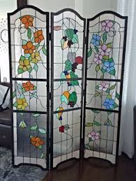 Quatrefoil Room Divider Stained Glass Room Divider Colored Glass By Marlina Pinterest