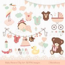 Clip Umbrella Bath Toy For Invites Cute Baby Shower Umbrella Clip Art Black And