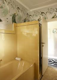Yellow Bathtub 34 Retro Yellow Bathroom Tile Ideas And Pictures
