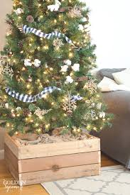 christmas tree stands easy diy christmas tree stand box made from repurposed 2x4s