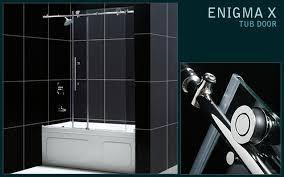 Dreamline Shower Doors Frameless Dreamline Tub Doors Dreamline Duet 56 To 59 Frameless Pass Sliding