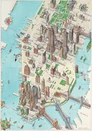 A Map Of New York City by A Map Of Manhattan New York Major Tourist Attractions Maps