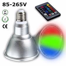 color changing flood light bulb rgb led light bulb e27 7 5w par30 color change waterproof ip44 flood