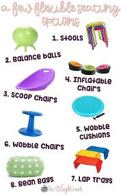 have you been thinking about flexible seating here is some