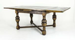 antique draw leaf table oak refectory table antique scottish table draw leaf table b551