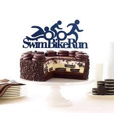 triathlon cake topper athlete cake topper triathlon