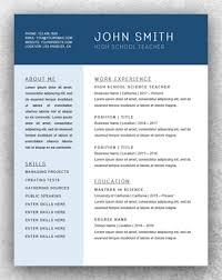 Microsoft Word Resume Sample Chronological Resume Template Word Resume Template Start