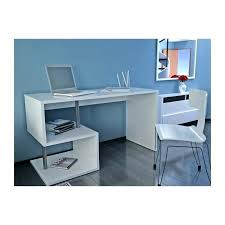 bureau ordinateur blanc laqué bureau informatique blanc laquac bureau informatique d angle bureau