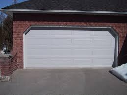 standard garage size garage door width for two cars