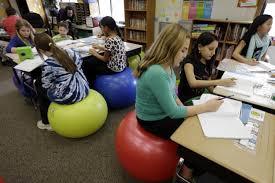 Bounce Ball Chair Pennsylvania Swaps Desks For Yoga Balls To Help Students