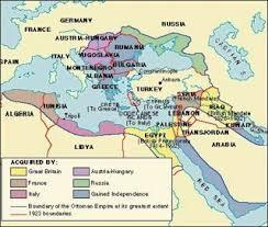 Present Day Ottoman Empire Ottoman Empire Conservapedia