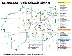 Phoenix Zoning Map by District Maps And Boundary Guide Kalamazoo Public Schools