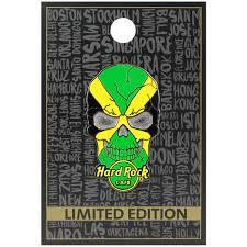Jamaican Flag Shirt Rock Shop Skull Flag Series 2 Jamaica
