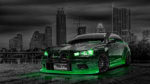 2014 Mitsubishi Lancer Evolution X Mitsubishi Lancer Evolution X Tuning Jdm Crystal City Car 2014
