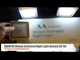 Motion Activated Night Light Avantek Motion Activated Night Light Review Elf N3 Youtube