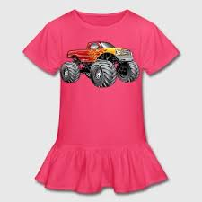 blazing monster truck shirt spreadshirt