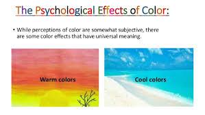 psychological effects of color color psychology