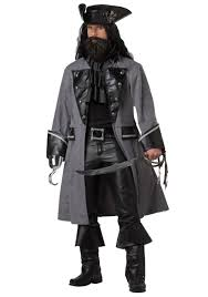 halloween pirate background mens blackbeard pirate costume
