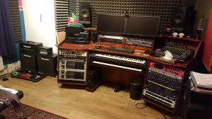 Omnirax Presto Studio Desk by How Does Your Home Studio Look Like Ergonomical Questions