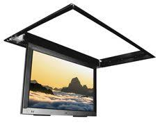 Drop Down Tv From Ceiling by Another Drop Down Tv Mount Creative Television Ideas