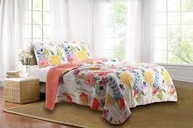 Apt 9 Bedding Amazon Com Greenland Home 3 Piece Watercolor Dream Quilt Set