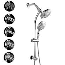 Bathroom Shower Set Lordear Commercial 5 Functions Hotel Spa Dual