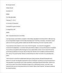 School Acceptance Letter Exle How To Write A Letter Of Intent For Grad School Exle Cover