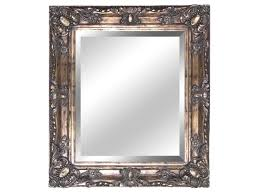 antique bathroom mirror frame with gold finish home interior
