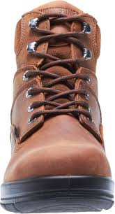 wolverine mens canyon leather 6in slip resistant work boots u2013 the