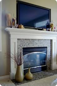 showy how to decorate a fireplace mantel and a tv fireplace design